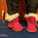Обувь для кукол,пупсов 42-50 см, с ножкой 7*4 см.
