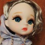 Шарниная куколка , SILVER, от Lucky Angel.