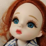 Шарнирная куколка MERCURY #2 от Lucky Angel