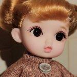 Шарнирная куколка,#3, с хвостиками