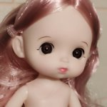 Шарнирные  Обижульки с разным цветом волос. Первая версия!