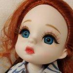 Шарнирная  куколка  MERCURY # 3 от Lucky Angel