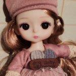 Шарнирная куколка из подарочной серии. Новинка!