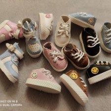 Реалистичные кроссовки для Obitsu 11, Ob11, Блайз.2,2*1,1 см.