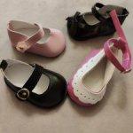 Туфли для кукол 42-50 см в ассортименте.