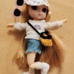 Шарнирная куколка Lena на суперсовременном теле с поворотом в талии и магнитами на стопах