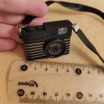 Три вида фотоаппаратов для кукол.