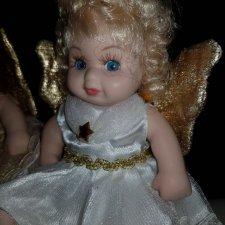 Фарфоровая винтажные куколки