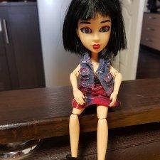 Маленькая шарнирная девочка. Кукла YULU SnapStar Yuki 23 см