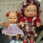 Лотом 2 испанские куколки.