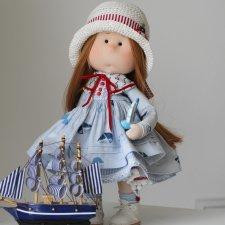 Текстильная морская кукла