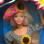 Sunflower barbie.Подсолнечная барби.