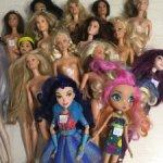Куклы,Барби,разные.