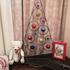 Кованая елка