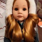 Кукла Gotz Ханна с собачкой из каталога готц 2021 года