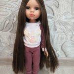 Кукла Кэрол рапунцель паола рейна в аутфите
