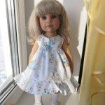 Продам лот платьев на куклу готц