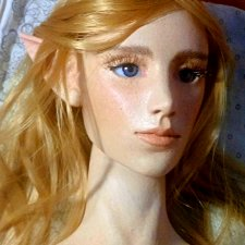 Эльф. Шарнирная кукла