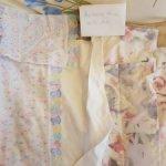 Огромный набор для большой кукольной кроватки  из новых х\б тканей.