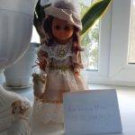 Шикарная одежда для куклы в стиле прошлых столетий