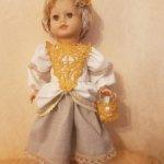 Одежда для большой куклы в стили Бохо