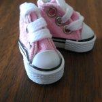 Обувь (кеды) для небольшой куклы