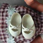 Туфли для куклы ГДР