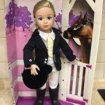 Кукла шарнирная Джолина Наездница