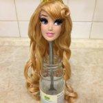 Голова от Куклы Авроры Парковой 43 см Дисней оригинал
