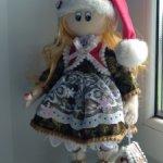 Срочная продажа. ЦЕНА СНИЖЕНА Продам текстилую куклу