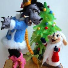 """"""" Лучший мой подарочек-это ты!"""" Авторские куклы"""