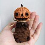 Хеллоуинская тыковка