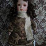 Интерьерная фарфоровая кукла Китай
