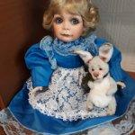 Костюм Алисы для кукол 50-60 см