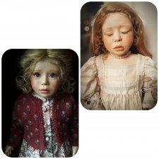Куклы, сделанные с душой... Авторские студийные девочки Christine Orange