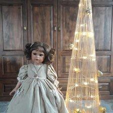Подарок под елку - куколка