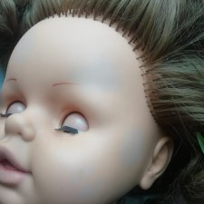 Помогите, пожалуйста, советом! Синячки на русской куколке