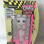 L.O.L. Surprise! O.M.G. Lights Dazzle Светящаяся кукла ЛОЛ Дэзли