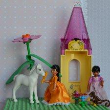 Принцессы Lego - подружки моего детства