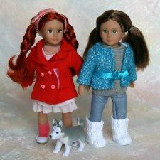 Мои малютки Сашенька и Инга (Lori by Our Generation)