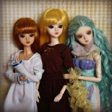 Цири, Ирис и Злата - три милые джеечки