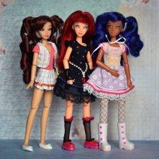Джун, Кана и Адрина - мои Juku Couture