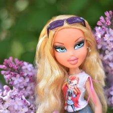Хлоя в летнем парке