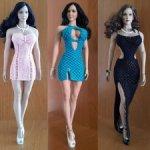 Коллекция платьев 1/6 для Phicen (TBLeague) и JiaouDoll с большой грудью.