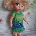 Продам вязаную одежду для Диснейки