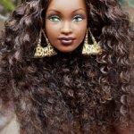 Голова Барби Barbie Kwanzaa (Кванза)