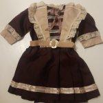 Платье из антик материалов