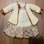 Винтажный комплект на французскую куклу