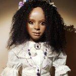 "Авторская фарфоровая кукла "" Pearl"""