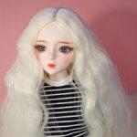 Парик на куклу 8-9 inch (20-22 см)